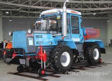 Мотовоз маневровый ММТ-2 на базе трактора ХТЗ-150К-09, локомобиль