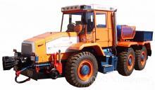 Мотовоз маневровый ММТ-3 на базе трактора ХТА-300, локомобиль