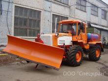 Отвал поворотный ОП-300 (локомобиль, тяговый модуль, маневровый тягач)